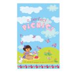 Dora The Explorer Plastic Tablecover - 6 PKG