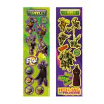 Teenage Mutant Ninja Turtles 8 Sticker Strips - 12 PKG/8