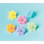 Favours Flower Rings - 6 PKG/24