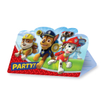 Paw Patrol Folded Invitations - 10 PKG/8