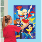 DC Super Hero Girls Party Games - 6 PKG