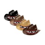 Western Mini Cowboy Hats 12cm x 5.5cm - 12 PKG/8