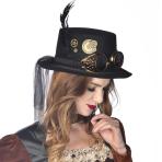 Elegant Ozzy Steampunk Top-Hats - 6 PC