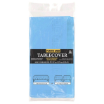 Powder Blue Paper Tablecover    - 6 PKG