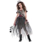 Teens Prombie Queen Zombie Costume - Age 12-14 Years - 1 PC