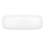 Long White Platters 16.5cm x 44.4cm - 12 PC