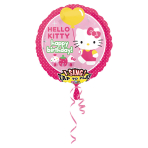 "Hello Kitty Sing-a-Tune Birthday Foil Balloons 28""/71cm P75 - 5 PC"