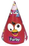 Furby Paper Party Hats - 5 PKG/6