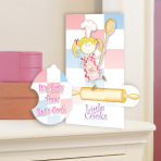 Little Cooks Pop-up Invitations & Envelopes 14cm x 8cm - 6 PKG/8