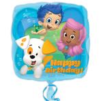 Bubble Guppies Birthday Standard Foil Balloons S60 - 5 PC