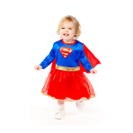 Supergirl Costume - Age 2-3 Years - 1 PC