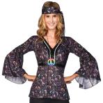 Hippie Rainbow Peace Sign Necklaces - 10 PC