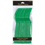 Festive Green Forks - 12 PKG/20