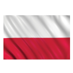 Poland Flag    - 1.5m x 90cm - 6 PKG