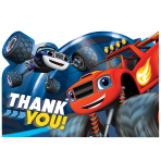 Blaze Thank You Postcards - 6 PKG/8
