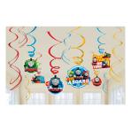 Thomas & Friends Swirl Decorations - 6 PKG/12