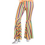 Rainbow Striped Flares - Size 14-16 - 1 PC