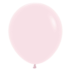 """Pastel Matte Solid Pink 609 Latex Balloons 18""""/45cm - 25 PC"""