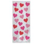 Key To Your Heart Large Party Bags 27.9cm h x 12.7cm w x 8.2 cm d - 12 PKG/20
