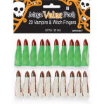 Witch and Vampire Finger Mega Value Pack Favour  - 9 PKG/20
