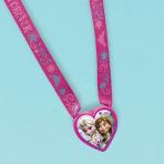 Frozen Heart Charm Necklaces - 61cm l x 3.8cm - 6 PKG/12