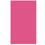 Magenta Plastic Tablecovers 1.37m x 2.74m - 12 PC