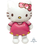 "Hello Kitty AirWalkers Foil Balloon 50""/127cm h x 30""/76cm h - P93 5 PC"