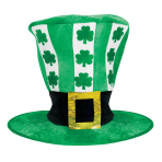 St. Patrick's Oversized Hat Shamrocks 28cm x 30.4cm - 6 PC