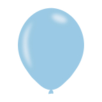 "Pearlised Power Blue Latex Balloons 11""/27.5cm - 10PKG/10"