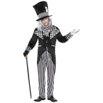 Totally Mad Hatter Costume - Standard Size - 1 PC