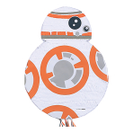 Star Wars BB8 Pull Pinatas - 4 PC