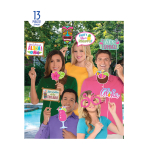 Hawaiian Photo Props - 6 PKG/13