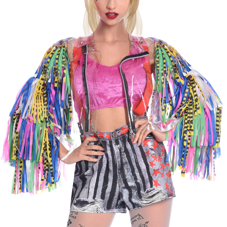 Harley Quinn Birds Of Prey Jacket Size S M 1 Pc Amscan International
