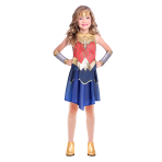 Wonder Woman Movie Costume - Age 6-8 Years - 1 PC