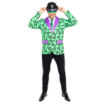 The Riddler Costume - Size Medium - 1 PC