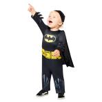 Batman Classic Costume - Age 12-18 Months - 1 PC