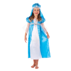 Girls Mary Costume - Age 5-6 Years - 1 PC