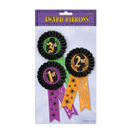 Halloween Award Ribbon Multi-Packs 29.2cm x 15.8cm - 6 PKG/3