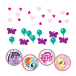 My Little Pony Confetti Packs 34g - 10 PKG