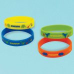 Prehistoric Party Rubber Bracelets - 6 PKG/6