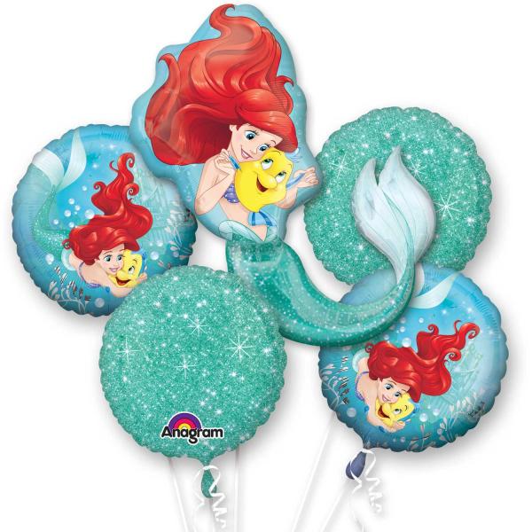 Disney Ariel Little Mermaid Dream Big Clear Orbz Balloon