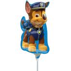 Paw Patrol Chase Mini Shape Foil Balloons A30 - 5 PC