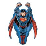 """Superman SuperShape Foil Balloons 23""""/58cm w x 34""""/86cm h P38 - 5 PC"""