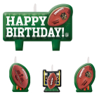 NFL Candle Set - 6 PKG/4
