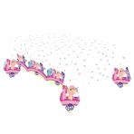My Little Pony Plastic Tablecovers 1.2m x 1.9m - 10 PC