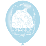 "Disney Princess 4 Sided Print Latex Balloons 11""/27.5cm"