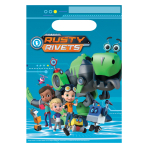 Rusty Rivets Loot Bags - 6 PKG/8