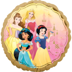 Princess Once Upon A Time Standard Foil Balloons S60 - 5 PC