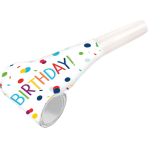 Confetti Birthday Noisemaker Blowouts - 10 PKG/8