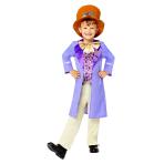 Willy Wonka Costume - Age 10-12 Years - 1 PC